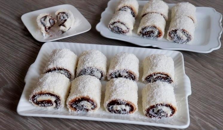 Шоколадный Султан Лукум рецепт нежного турецкого десерта Паша Лукум с какао без выпечки