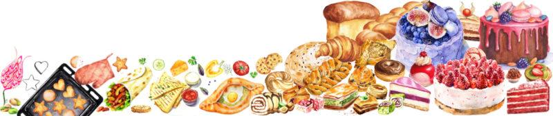 О Сладком дворе - рецепты выпечки, тортов, пирогов, десертов, морожного