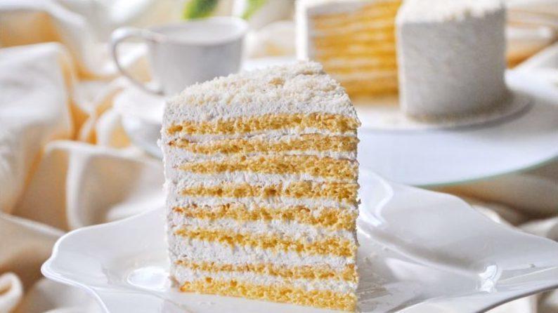 Торт Молочная девочка классический рецепт