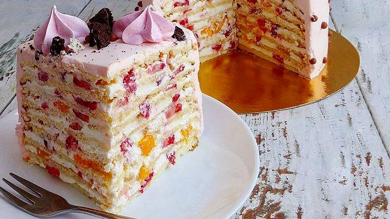 Торт Молочная девочка рецепт от Ольги Вашуриной