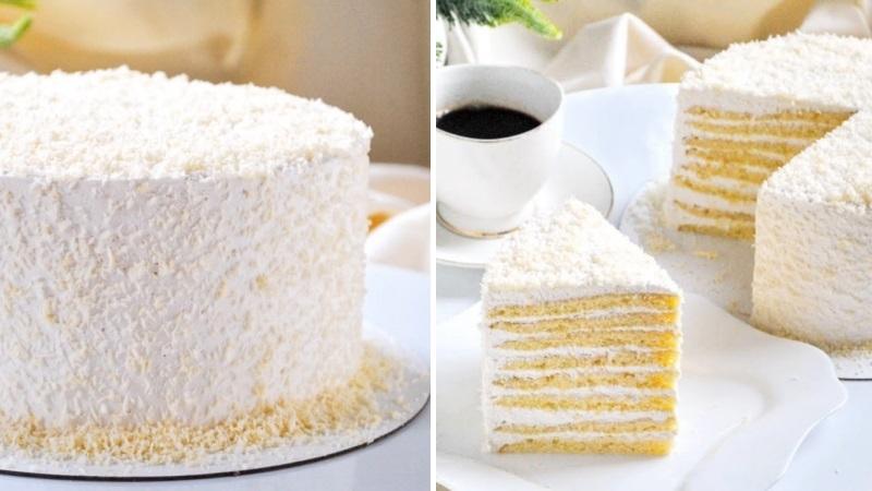 Как украсить торт Молочная девочка в домашних условиях