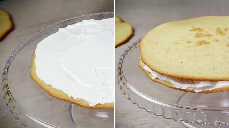 Сборка торта Молочная девочка