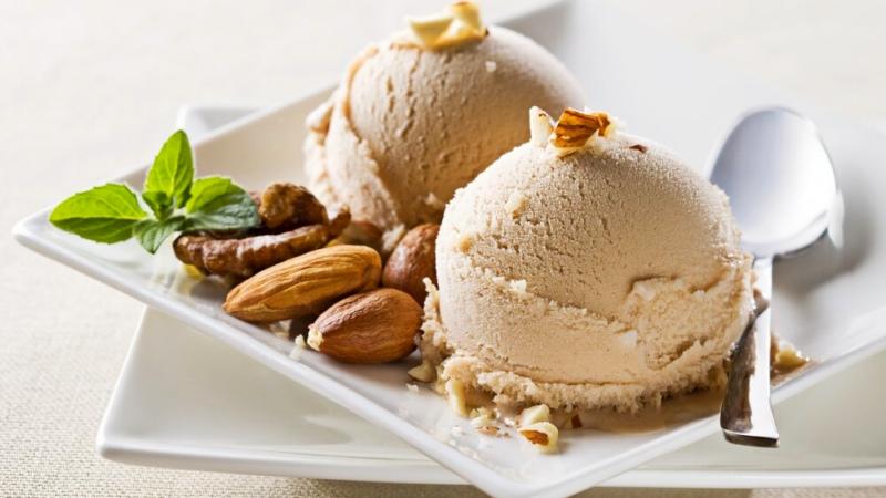 Ореховое мороженое домашнее по быстрому рецепту