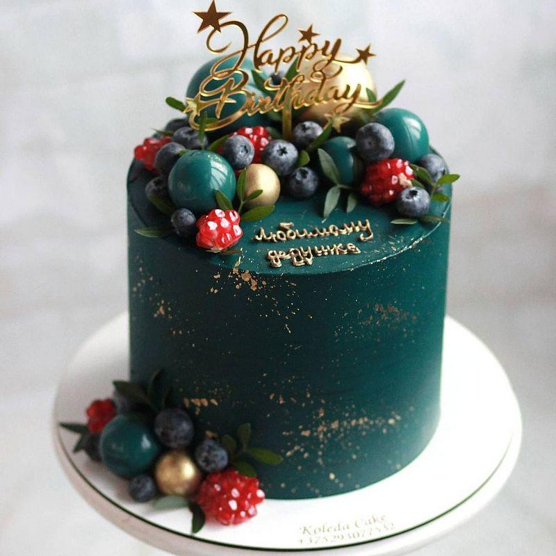 Оригинальный торт для любимого мужа или дедушки на День рождения.