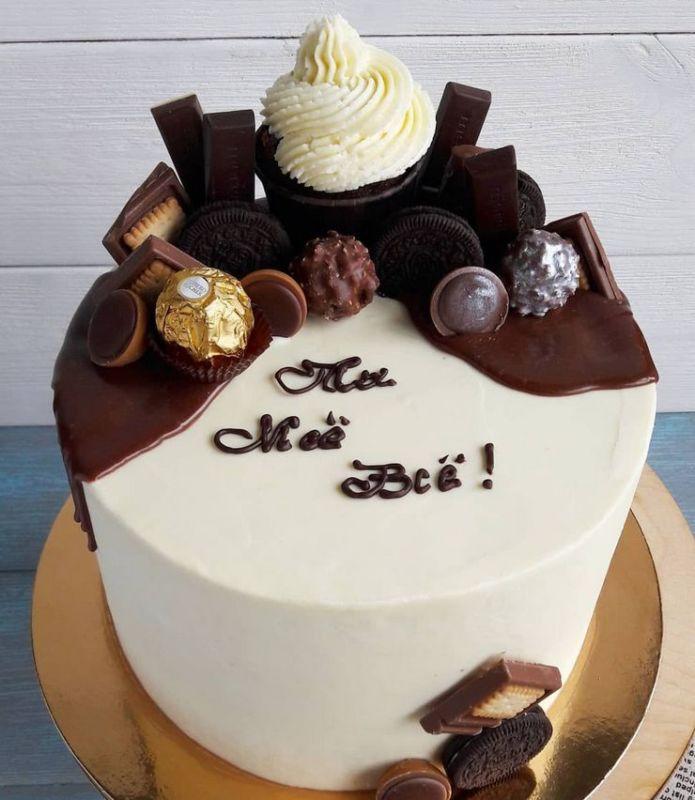 Торт мужу мужчине на день рождения ты моё всё