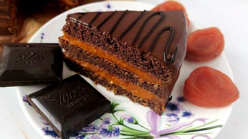 ПП торт Захер без глютена и сахара