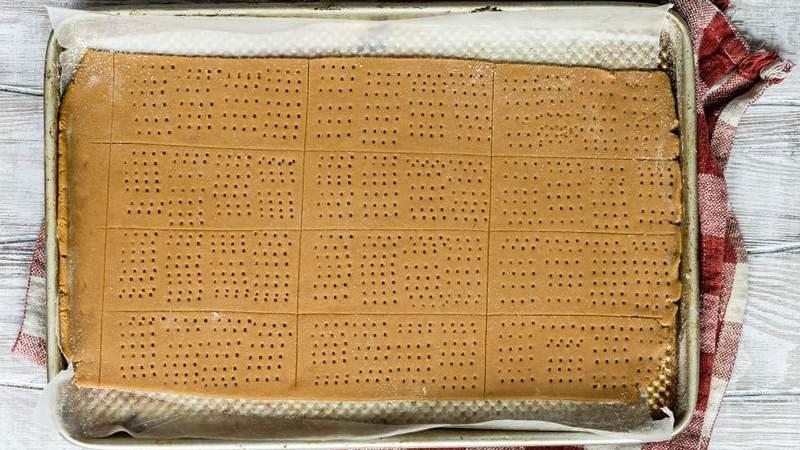 Крекеры из цельнозерновой муки с мёдом крекеры Грэма