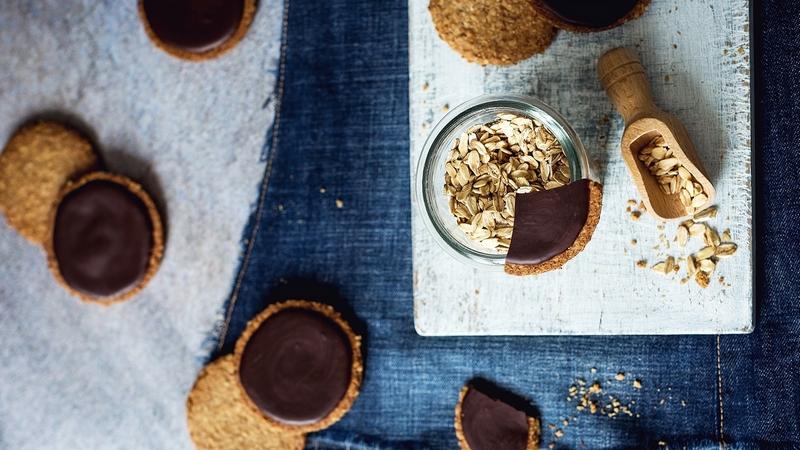 Овсяное цельнозерновое печенье Digestive biscuit