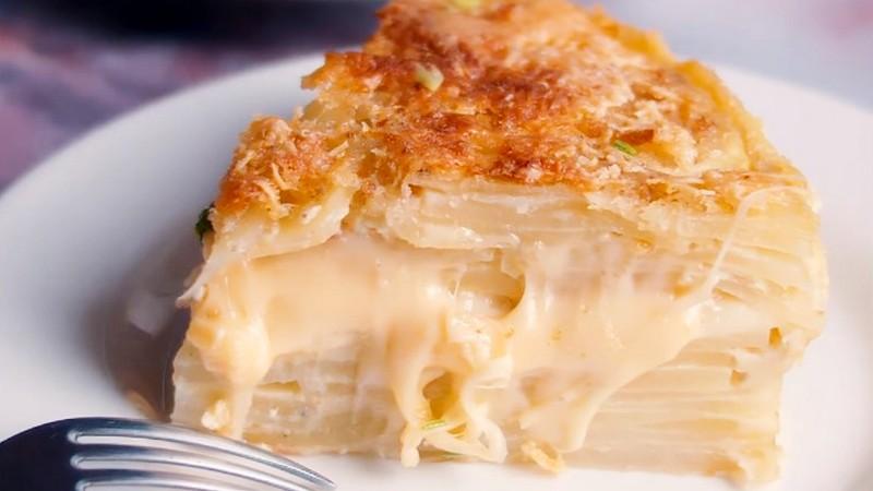 Невидимый пирог с картошкой рецепт