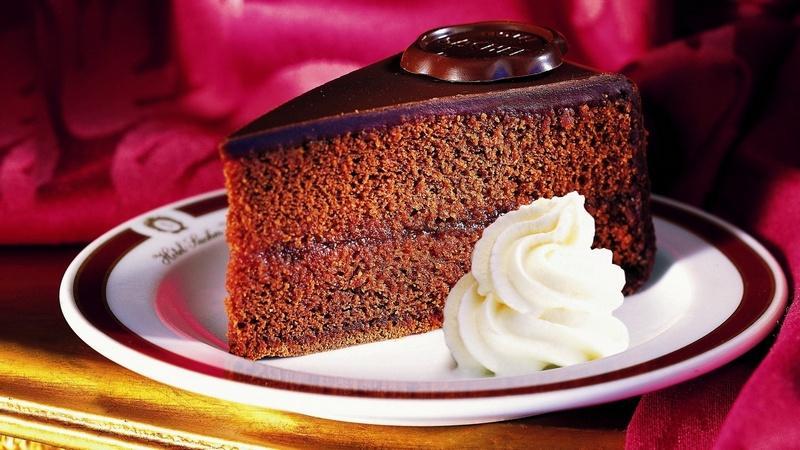 Торт Захер — самый шоколадный бисквит