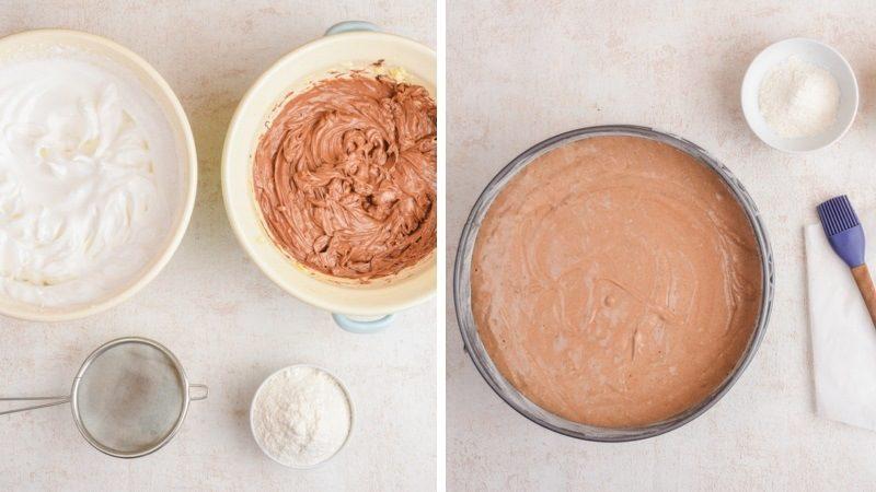 Основа шоколадного торта Захер