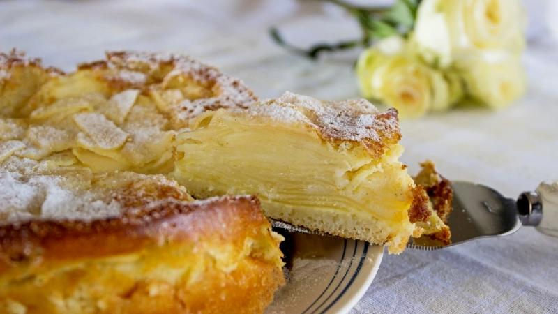 Пирог из невидимого теста французский рецепт