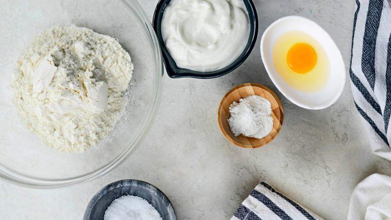 Бездрожжевое тесто на хачапури в духовке