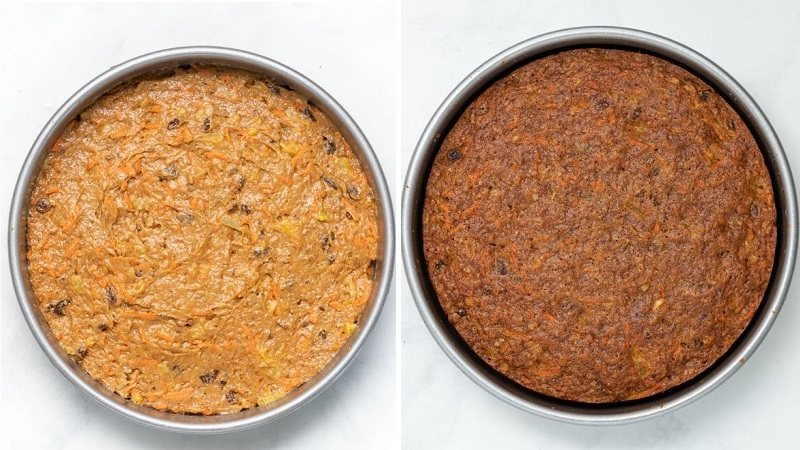 Морковный бисквит ПП рецепт без сахара и яиц