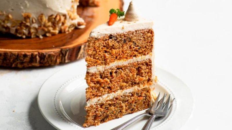Морковный торт ПП 🥕 без сахара и яиц - рецепт с фото