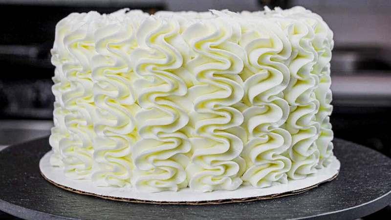 ПП Торт на день рождения без муки и сахара
