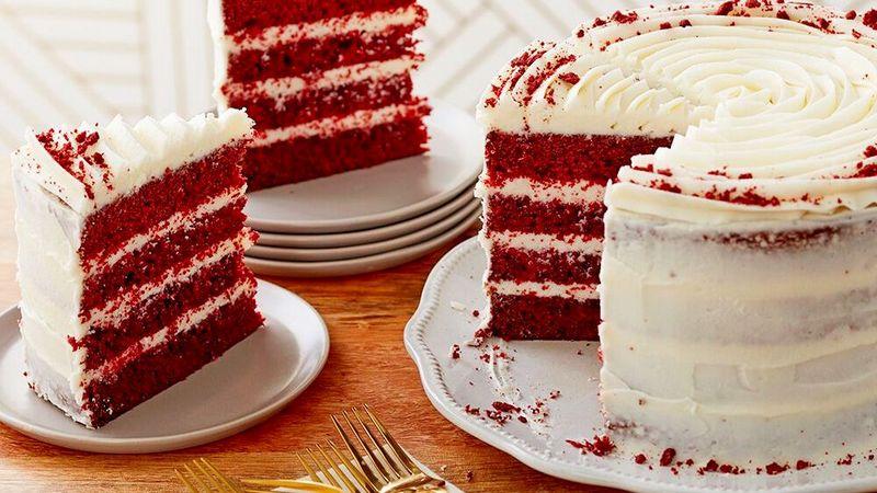 Торт ПП Красный бархат