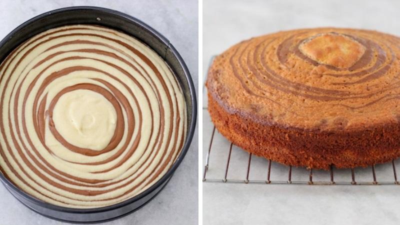 Вкусный пирог Зебра по классическому рецепту