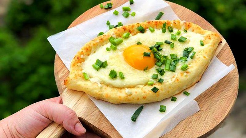 ПП хачапури по-аджарски рецепт с творогом и сыром