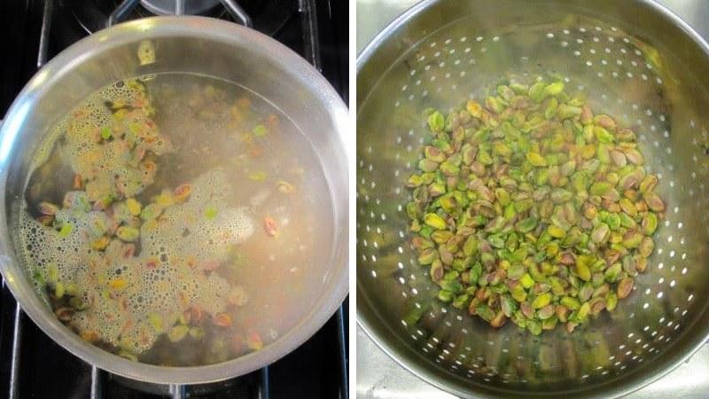 Как сделать фисташковую пасту для торта Фисташка - малина