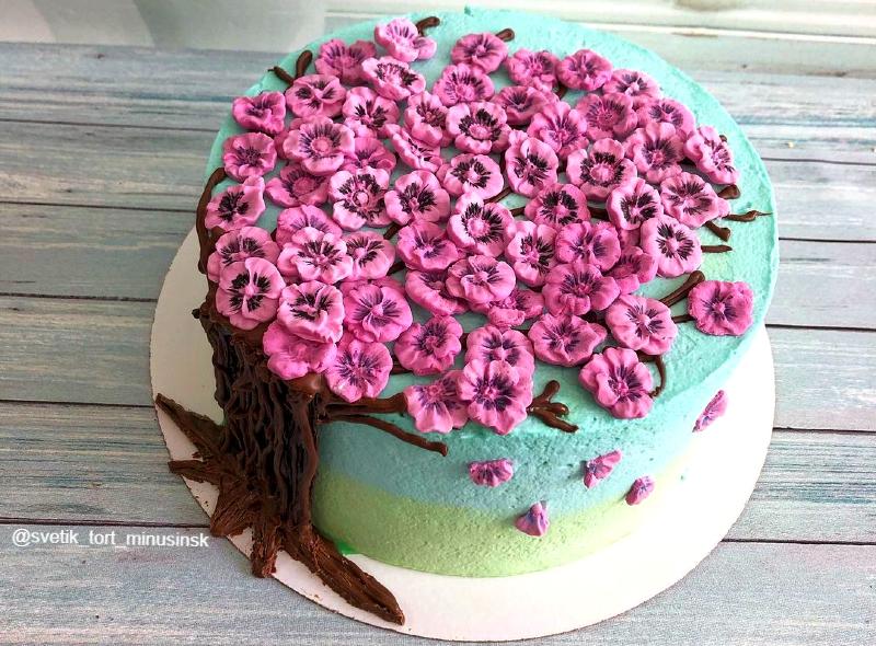 Торт красивый девочке на день рождения 10 лет