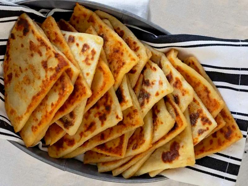 Картофельные лепешки на сковороде - быстрый хлеб