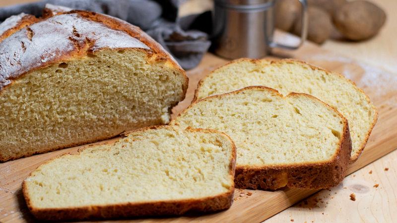 Картофельный хлеб без дрожжей на закваске рецепт простой без дрожжей