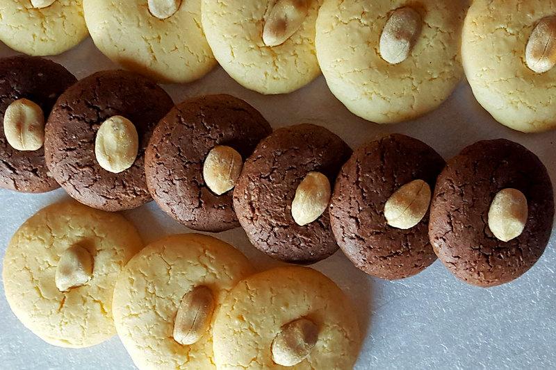 Шоколадное японское печенье пп рецепт