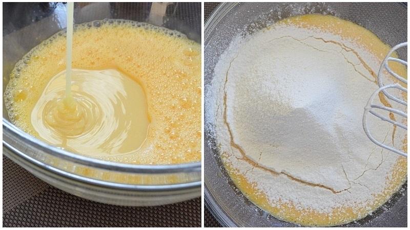 Как сделать молочные коржи для торта