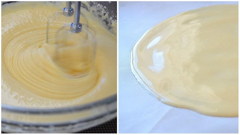 Рецепт молочных коржей для кокосового торта