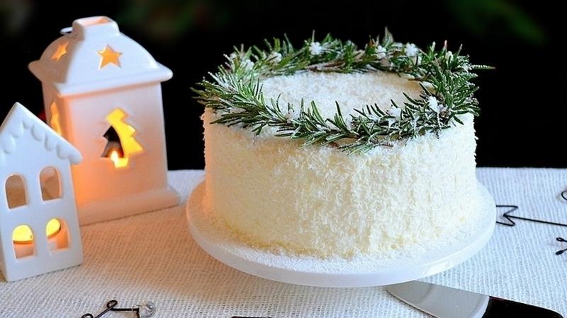 Торт Кокосовое наслаждение с крем чизом рецепт
