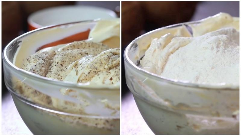 Рецепт миндального бисквита для торта Рафаэлло
