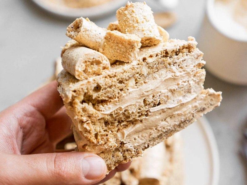 Торт ореховый Киевский рецепт от Энди шефа