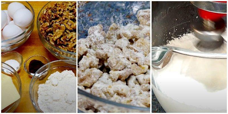 Киевский торт рецепт от Бабушки Эммы с грецкими орехами упрощенный