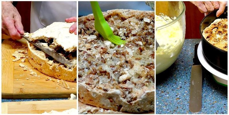 Киевский торт по рецепту от Бабушки Эммы сборка
