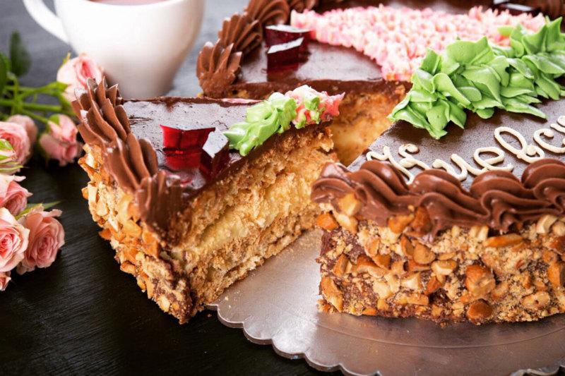 Киевский торт по классическому рецепту