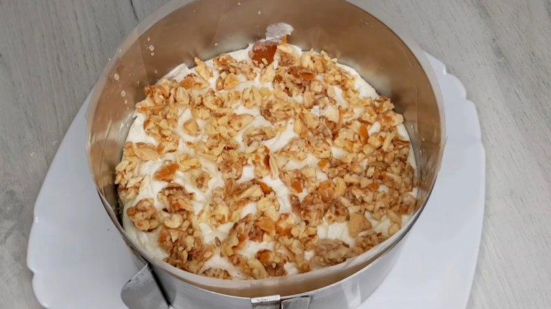 Начинка для торта Рафаэлло хрустящий слой