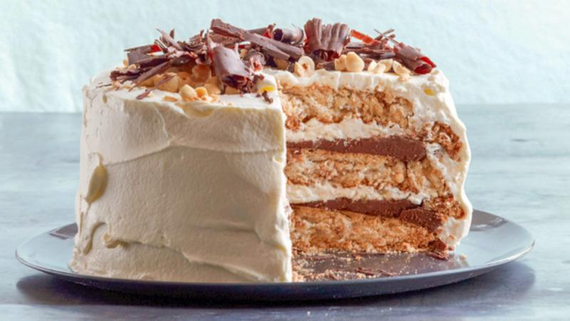 Торт шоколадный Дакуаз - французский аналог Киевского торта