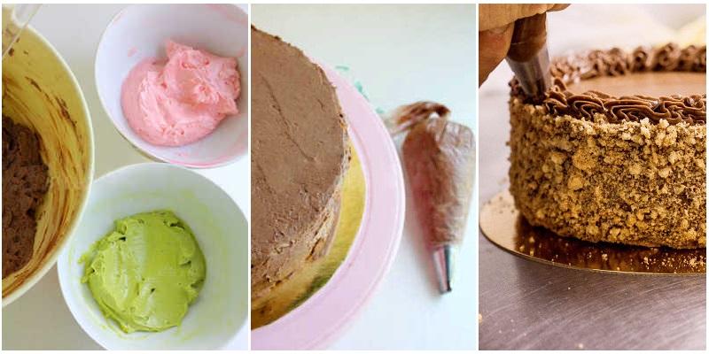 Как украсить Киевский торт