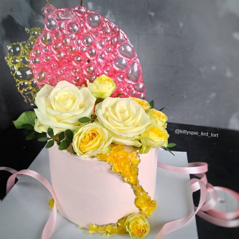 Торт необычный женщине на день рождения