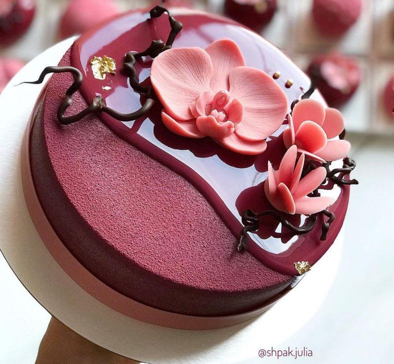 Муссовый торт для женщины
