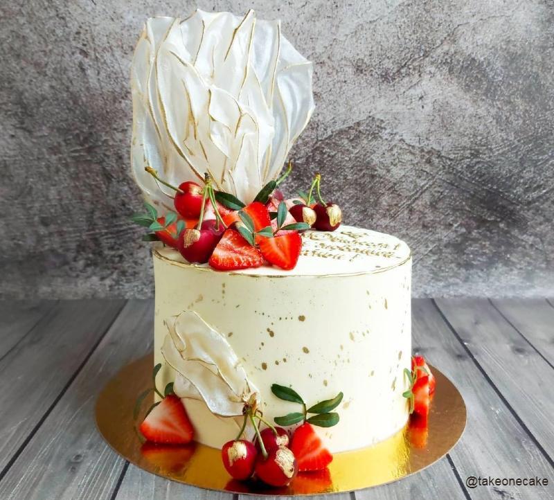 Торт женщине на день рождения фото