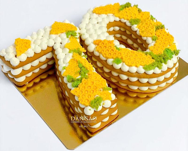 Торт женщине на 70 лет