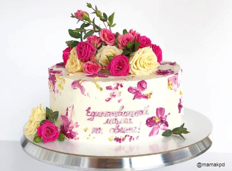 Торт единственной маме на свете