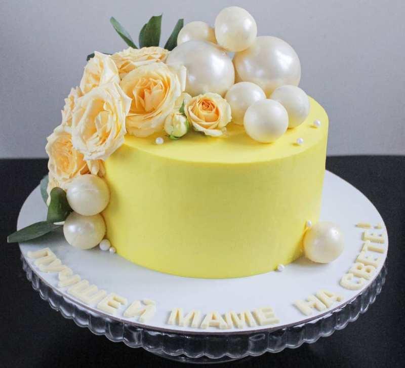 Тортик лучшей маме на свете