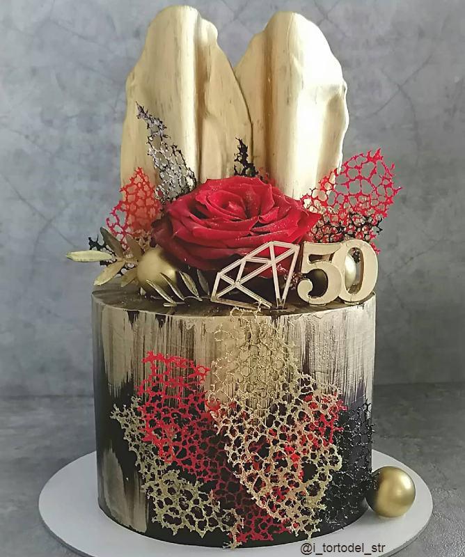 Торт маме и бабушке на 50 лет