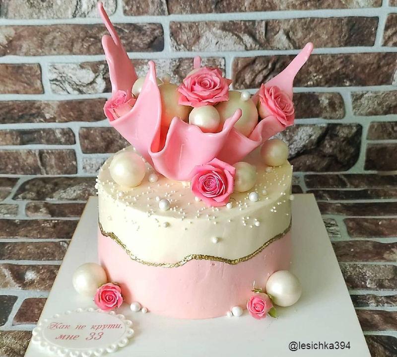 Торт женщине Как не крути мне 33