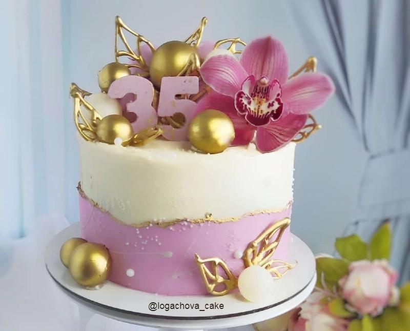 Торт маме на 35 лет
