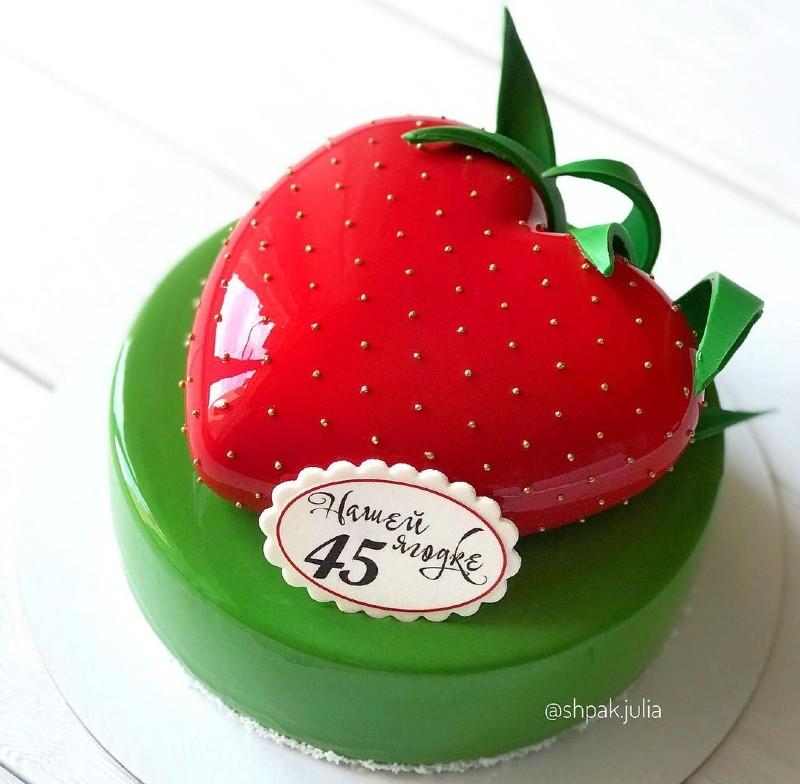 Торт женщине на 45 лет