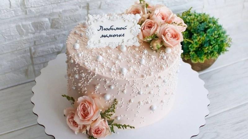Торт маме женщине на день рождения